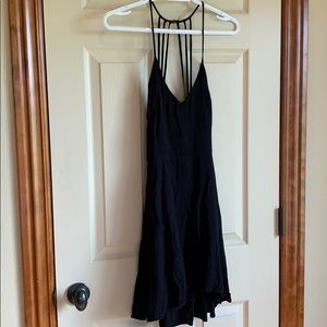 Tobi Medium spaghetti strap little black dress